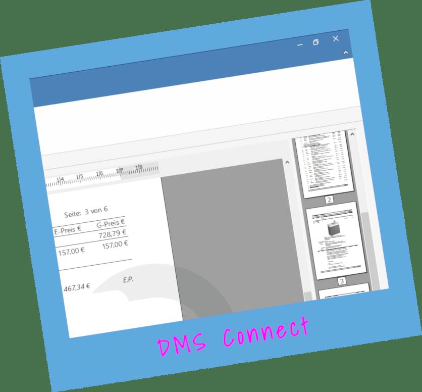Modul DMS-Connect von TopKontor Handwerk