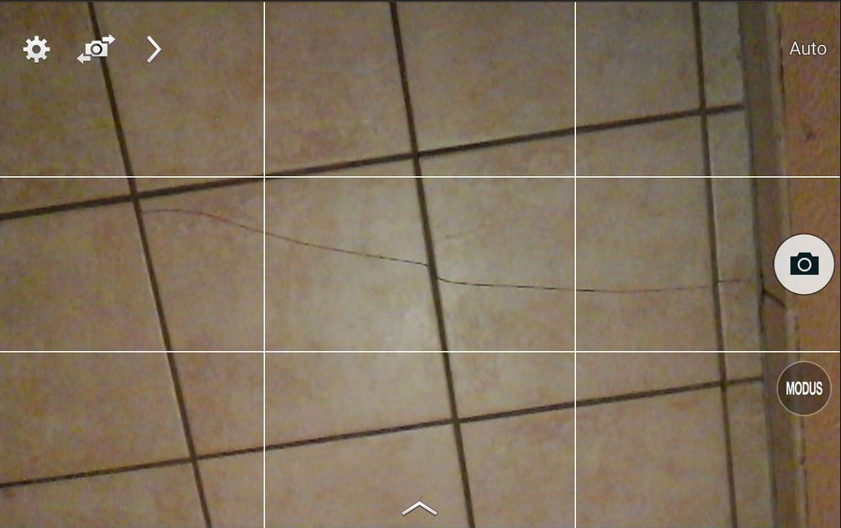 Aufzeichnen eines Fotos mit der bau:doku-App
