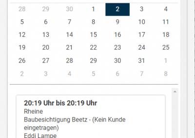App Handwerk Kalender