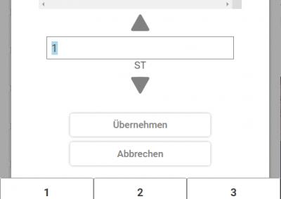 App Handwerk Reparaturauftrag Position erfassen